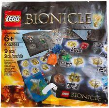 NUOVO LEGO BIONICLE 5002941: Hero Pack sacchetto di plastica 2015 9PCS
