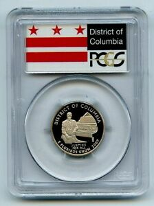2009 S 25C Clad Quarter Washington DC PCGS PR70DCAM