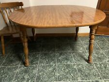 Set of Pure Oak Table With Chairs, Good Shape!