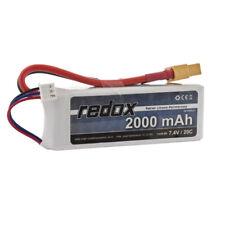 efaso Akku Batterie 7,4V 2000 mAh Li-Po passend für Syma X8 PRO