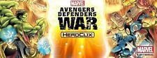 Heroclix Avengers Defenders War CUR Style 16 Figure Common Rare Set Lot