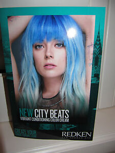 Redken New City Beats Acidic Conditioning Color Cream Instruction Book &Formulas