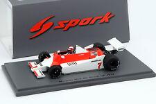 John Watson McLaren M29 #7 Großbritannien GP Formel 1 1979 1:43 Spark