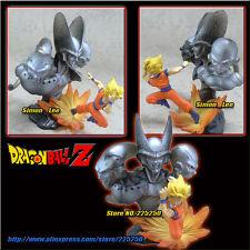 Bandai dragon ball imagination goku ss saiyan vs buu cell freeza figure figura