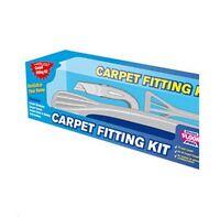 Stikatak Complete Floor Pro Carpet Fitting Stretcher Tucker Knife Kit - FREE P&P