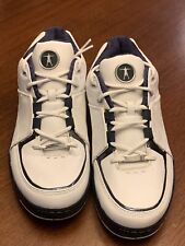 2005 OG CONVERSE DWAYNE WADE CITY OX LOW WHITE/NAVY !!RARE!! SIZE 12. PRE-OWNED