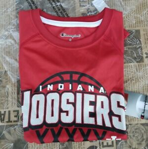 NCAA Champion Authentic Youth Indiana Hoosiers Shirt Size Small 6/7