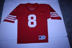 Youth San Francisco 49ers Steve Young L (14/16) Vintage Jersey (Red) Champion