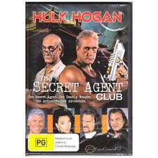 DVD SECRET AGENT CLUB, THE Hulk Hogan Lesley Ann Down 1996 COMEDY ACTION R4 [BNS