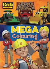 NEW Bob The Builder: Mega Colouring Book
