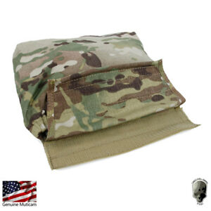 TMC Tactical Pouch Dump Pouch Armor Carrier Hook and Loop Drop Pouch Roll Camo