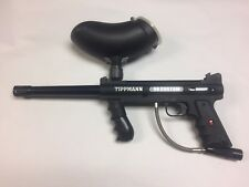 Tippmann Custom 98 E-Grip Paintball Marker E-trigger Working Condition Hopper