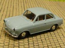 1/87 Brekina VW 1500 Limousine blaugrau crome