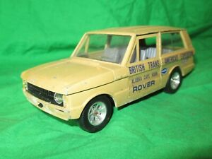 Burago Range Rover Trans Americas Expedition 1/24th scale diecast for renovation