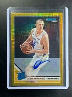 2019-20 Donruss Choice Alen Smailagic Rated Rookie Gold  J# 06/10! eBay 1 of 1!