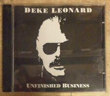 Deke Leonard – Unfinished Business CD Northdown Records 