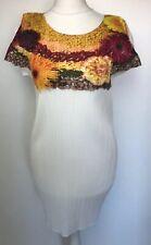 Immaculate Vegetable Print Issey Miyake Pleats Please Tunic/dress. Sz 3
