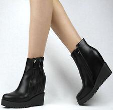Sergio todzi señora botas botín 39 negro botas botines tacón de cuña