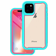For Apple iPhone 11/11Pro/11Pro Max TPU Shockproof Rugged Clear Slim Case Cover