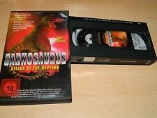 CARNOSAURUS Attack of the Raptors - John Savage - EMPIRE - uncut - VHS - ab 18