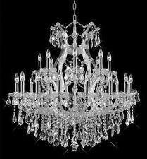 Palace Chrome 25 light Maria Theresa Crystal Chandelier light.
