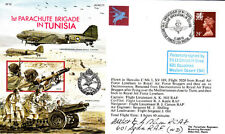 50th Anniv.of No.1 Parachute Brigade in Tunisia. Signed by Fit.Lt.Ernest H Shea