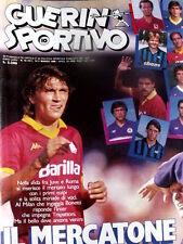 Guerin Sportivo 10 1986 Tifosi della B Catanzaro Palermo Pescara Cagliari Arezzo