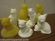 NEW  4 SUPERCAST CATS REUSABLE  LATEX MOULDS /MOLDS