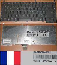 Clavier Azerty Français GATEWAY MX7000 7000 M7322 M520 Series HMB891-E05 Noir
