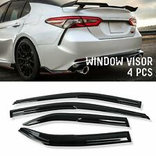 For 2012-2017 Toyota Camry Window Visors Rain Guard Vent Sun Shade Deflector (Fits: Toyota)