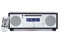 Tivoli Audio Music System+ FM/DAB BLACK Micro Hi-Fi System+ CD Player+Bluetooth