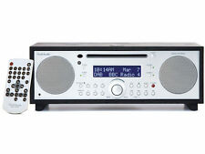 Tivoli Audio Music System+ FM/DAB BLACK Micro Hi-Fi System+ CD Player+Bluetooth