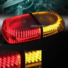 240 LED RED/AMBER EMERGENCY WARNING HAZARD ROOF TOP FLASH STROBE LIGHT UNIVERSAL