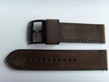 FOSSIL ORIGINALE RICAMBIO cinturino in pelle me3127 OROLOGIO Strap marrone 24 mm