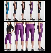 NWT$110 XS~S~M~L~XL Nike Power Speed DriFit Running Training Capris Tights ~Yoga