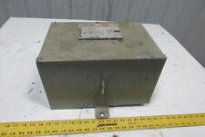 Square D 3T2F 480V Delta Primary 208Y/120V Secondary 3Ph 3kVa 3R Transformer