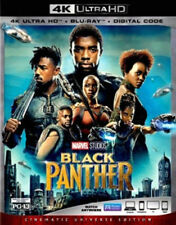 Black Panther 4K Blu-Ray +Blu Ray with Slip Cover - No Digital Included