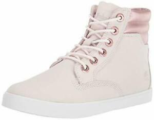 Timberland Women's Dausette Shoe Sneaker Boot Chukka Natural Nubuck A25QR
