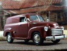 Mira RARE 1/18 1950 GMC Panel Truck Dk. Red SKU87372-338