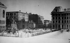 """Photo 1860s Montreal, Canada """"View - Victoria Square"""""""