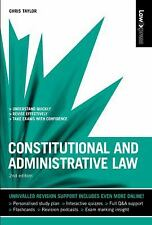 Constitutional and Administrative Law by Chris Taylor (2009, Paperback)