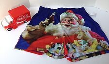 Coca Cola Santa Boxer Shorts + Truck Gift Set Holiday Christmas sz XL