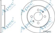 REAR BRAKE DISCS (PAIR) FOR PROTON WIRA GENUINE APEC DSK347