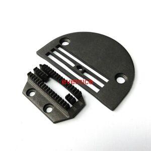 Non-Stick Heavy Work Teflon Needle Plate & Feeder For Juki Ddl-8700 8500 555 127