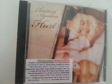 CHRISTINA AGUILERA  hurt ISRAELI  I PROMO cd single