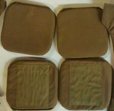 NEW 4 Pads USMC Hip Two Pair SPC MTV IMTV Military Modular Tactical Vest Coyote