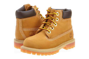 Timberland Toddlers 6 Inch Premium Boots Wheat/Brown 12809