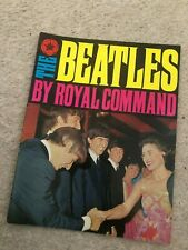 1963 THE BEATLES BY ROYAL COMMAND photo book NEAR MINT
