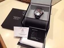 NEW 45 mm Aviator Men's Russian Mechanical Leather Strap Watch signed box