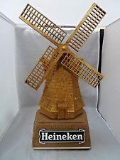 """Vintage NOS Heineken Beer Windmill 3-D Bar Sign 20"""" Tall"""